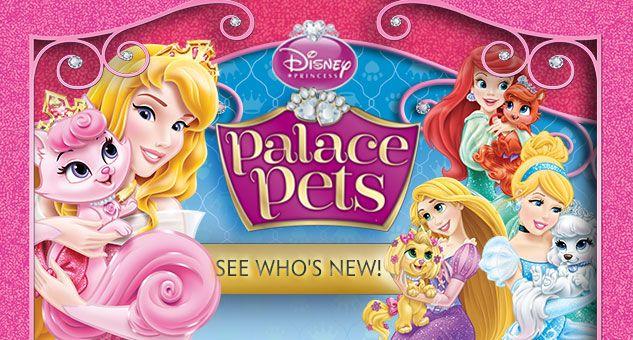New Palace Pets Disney princess dolls, Disney princess