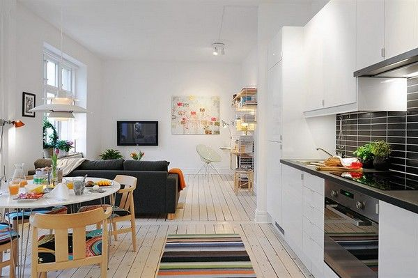 Small apartment design plan for single person | thehomeinteriordesign.com