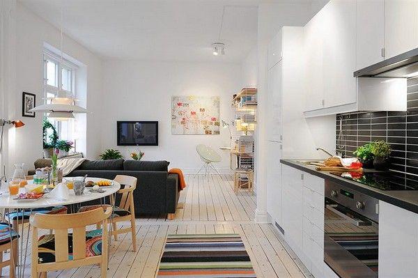 Small apartment design plan for single person | thehomeinteriordesign.com