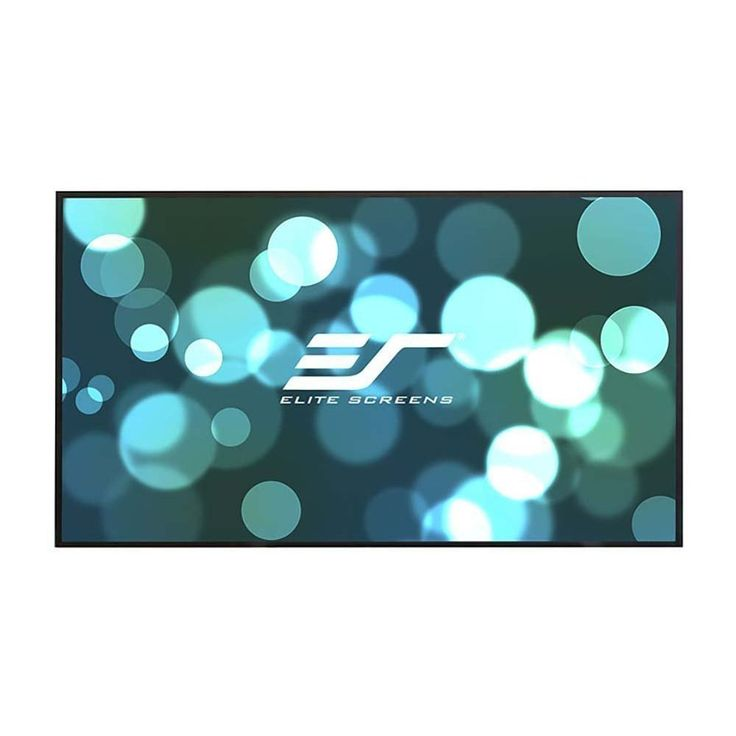 Elite Screens Aeon, 120-inch 16:9, 4K Home Theater Fixed Frame EDGE FREE Borderless Projection Projector Screen