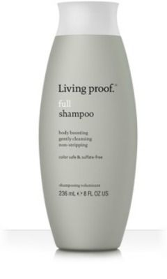 15 Sulfate-Free Shampoos Living Proof Full Shampoo is a sulfate-free daily shampoo formulated specifically to care for flat, lifeless hair. It thoroughly cleanses hair of dirt, oil, and product residue in a way that's gentle.