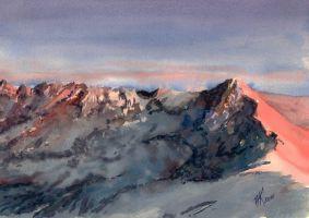Mountains by sezarka