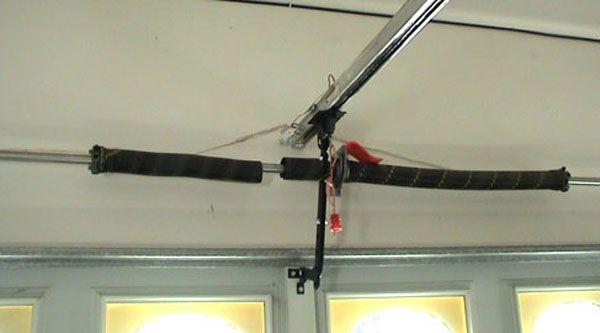 Tips to Consider When Replacing Broken Garage Door Spring #Garage door spring broken