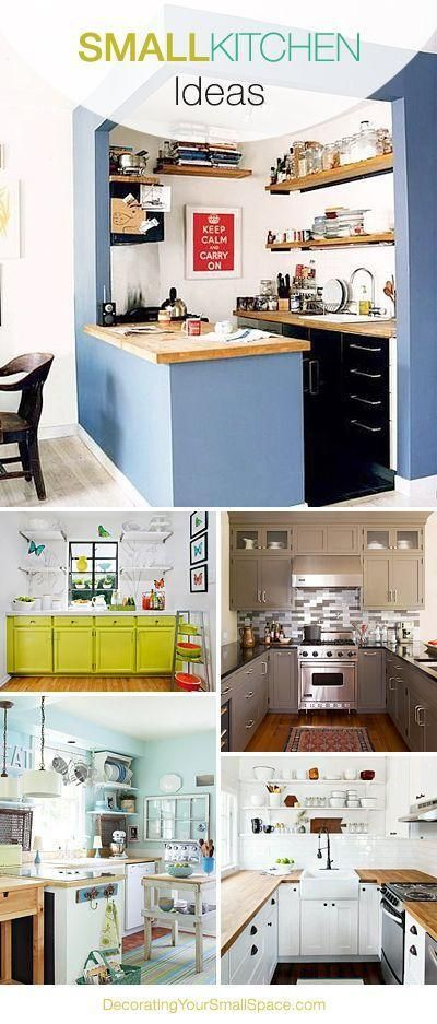 Small Kitchen Inspiration • Great Tips & Ideas!...