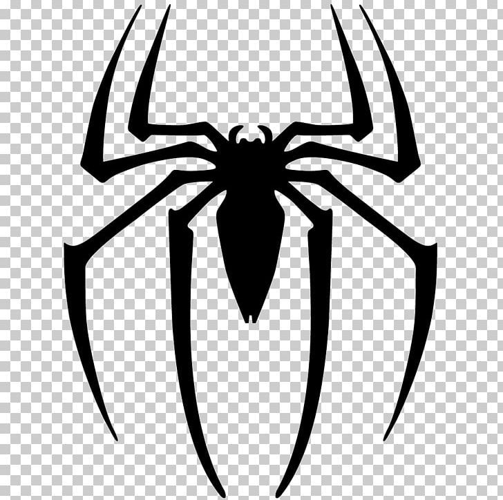 Spider Man Logo Decal Png Clipart Amazing Spiderman Arachnid Art Artwork Black And White Free Png Download Cute Doodles Drawings Spider Spiderman