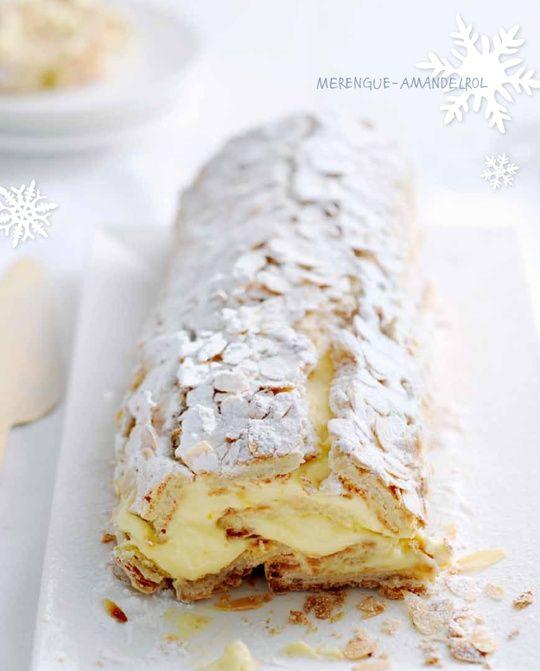White Christmas   Yvette van Boven, MERENGUE-AMANDELROL