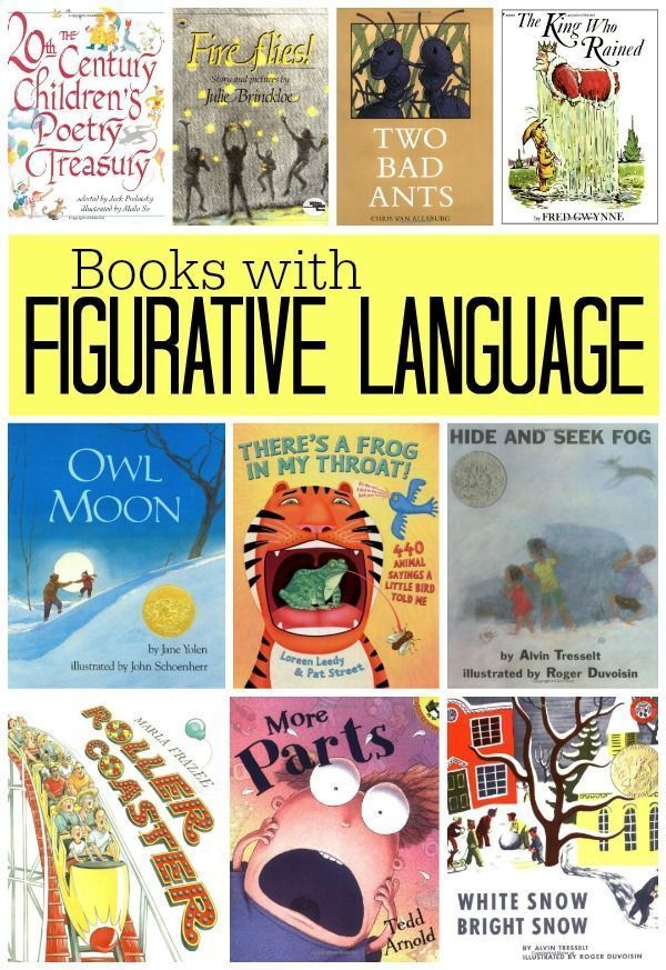 Books with Figurative Language | Sy