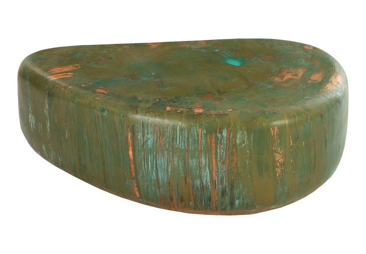 Wedge End Table, Lichen Finish   Sit Down NY   $1200