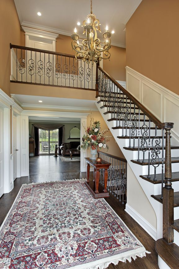 Images Of Traditional Foyers : Beautiful traditional foyer design with stunning oriental