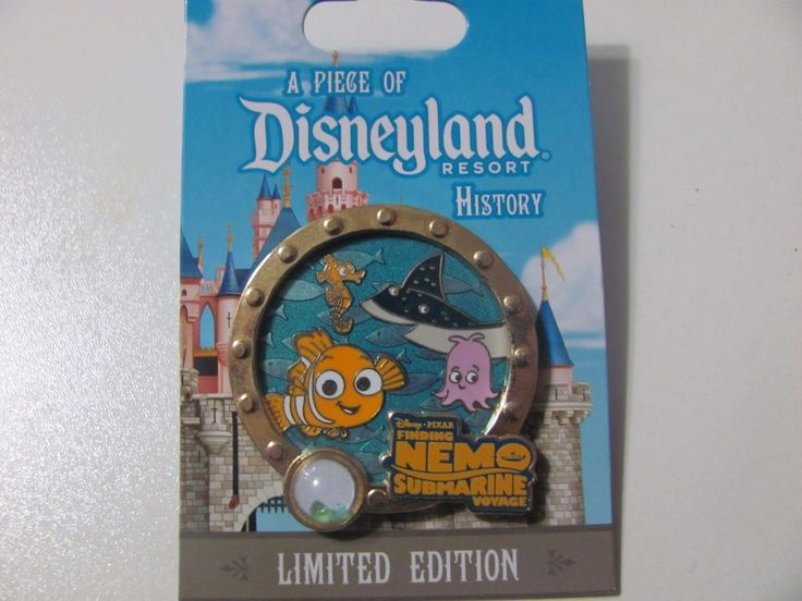 A Piece of Disneyland History Finding Nemo Submarine Voyage Pin NOC LE 1500