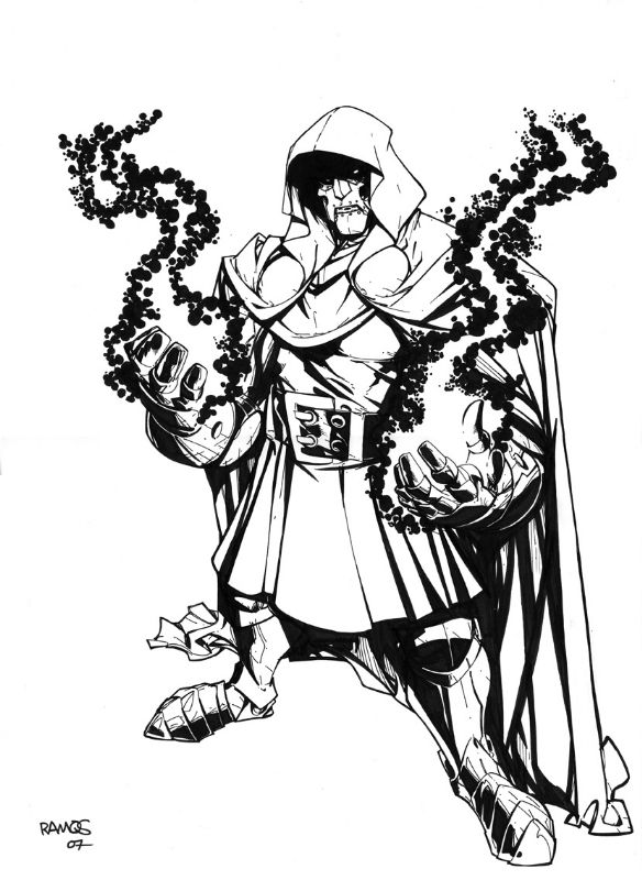 Humberto Ramos Drawings Black And White