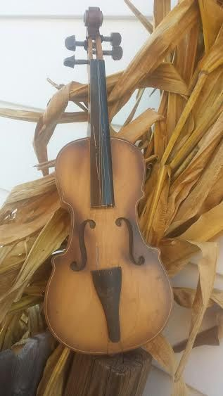 Vintage Rare Wood Toy Violin made in Japan by m.i.m.1950's, Gift, Musical, Band, Wall Art, Collector's Piece by ANTFOUNDANTIQUES on Etsy