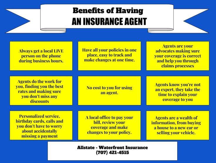 Benefits of having an insurance agent insurance agent
