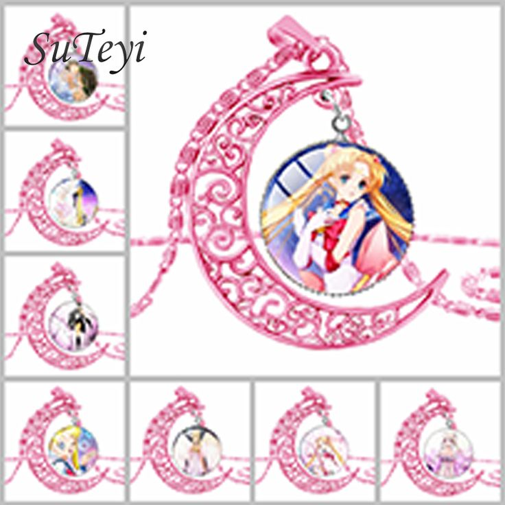 Sailor Moon Pink Round Crystal Star Cosplay Glass Pendant Necklace //Price: $10.00  ✔Free Shipping Worldwide   Tag your friends who would want this!   Insta :- @fandomexpressofficial  fb: fandomexpresscom  twitter : fandomexpress_  #shopping #fandomexpress #fandom
