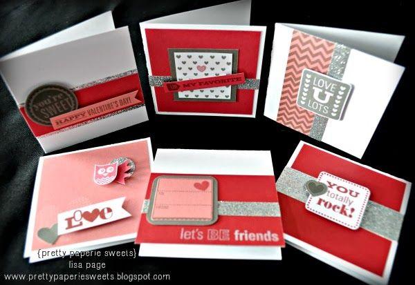 pretty paperie sweets - 3x3 card set + mini gift box