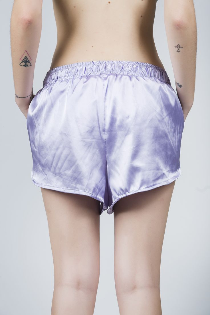 "The ""lilac"" hot shorts #pcpclothing"
