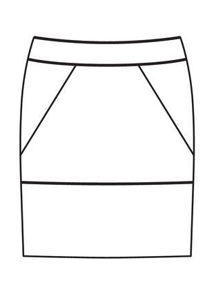 Юбка-карандаш   Furniture, Couture