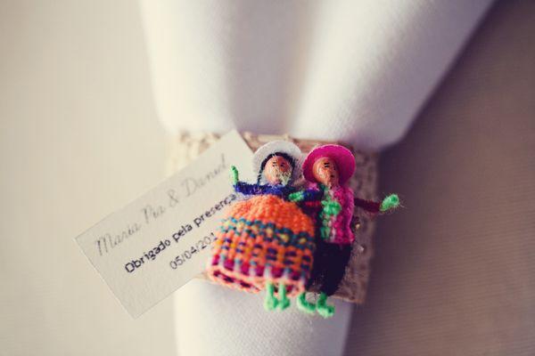 #Souvenir andino de #boda. #IdeasParaBodas #Wedding