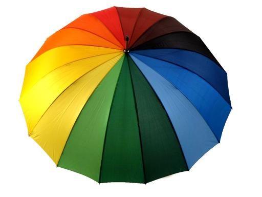 Dáždnik s rúčkou dámsky s drevenou rúčkou