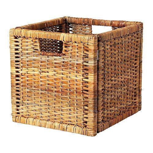 BRANÄS Basket - rattan  - IKEA
