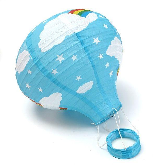 """Heißluftballon Chinesische Papierlaternen 12 """"/30 CM Hochzeit Regenbogen Für Hochzeit Festival Party Decor Geschenk Handwerk"""