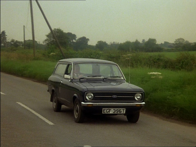 Number 9 was a Mk II Ford Escort estate had all the front end smashed in by a lorry