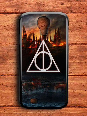 Harry Potter Deathly Hallows Hogwarts Samsung Galaxy S4 Case