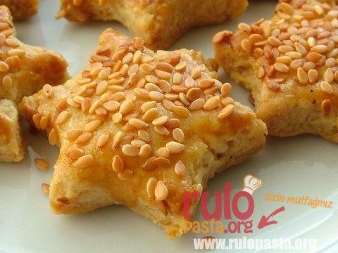 Akşam çayı için tuzlu kurabiye tarifi :)