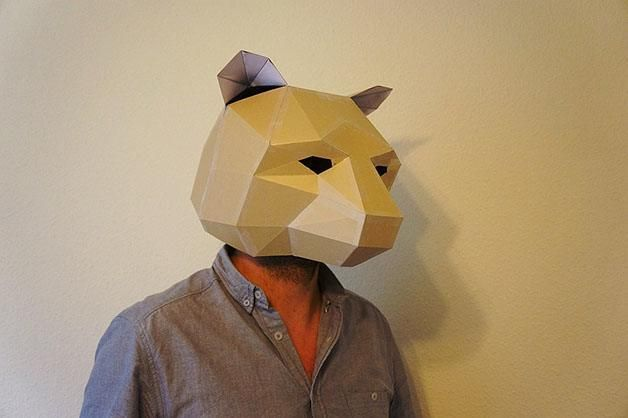 The Bear  The 18 Most Stunning 3D Masks Created By A Talented Designer • Page 3 of 5 • BoredBug