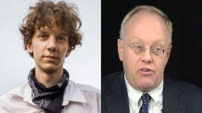 Jeremy Hammond Exposed State's Plan to Criminalize Democratic Dissent: Chris Hedges, on the sentencing of Jeremy Hammond, says there will be no free press without figures like Hammond, Edward Snowden, and Chelsea Manning.  Hammond plead guilty for his involvement in the Stratfor leak that exposed the State's plan to criminalize democratic dissent.  He will be sentenced tomorrow.