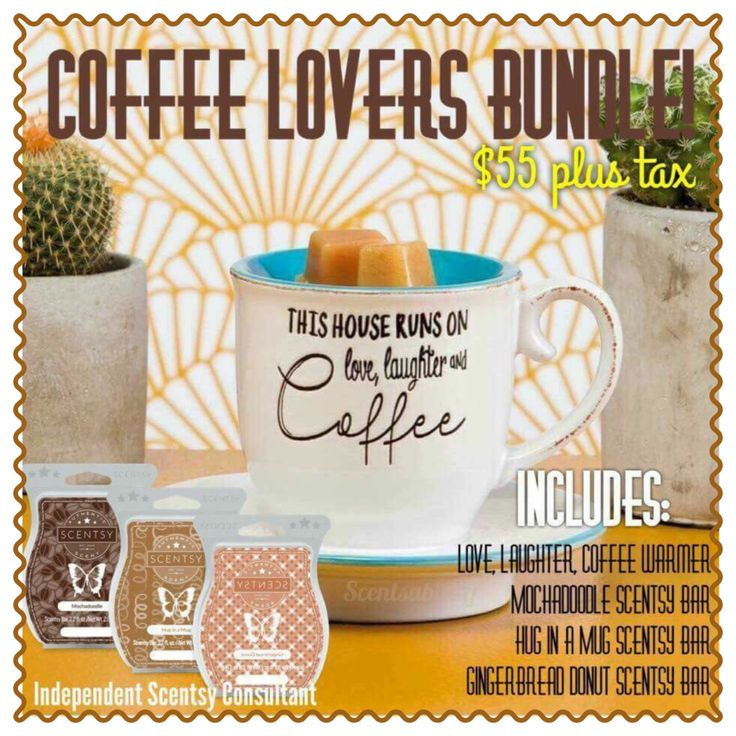 Coffee Lovers Scentsy warmer!