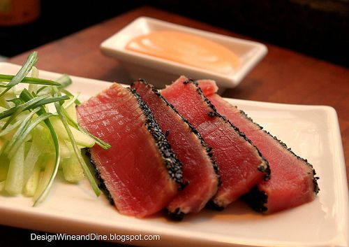 how to cook ahi tuna steaks in pan