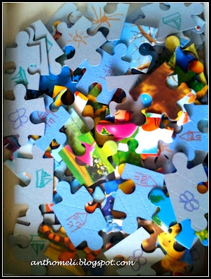 puzzle tip - Ανθομέλι: Παζλ τ΄ αγαπημένα!