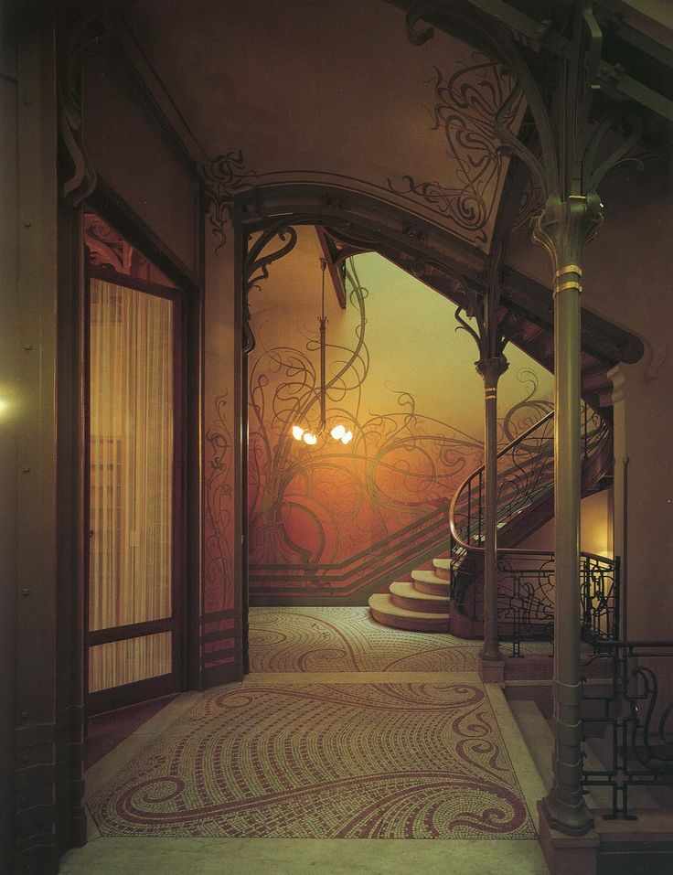 355 best art nouveau art deco arquitectura y decoraci n for Decoracion art nouveau