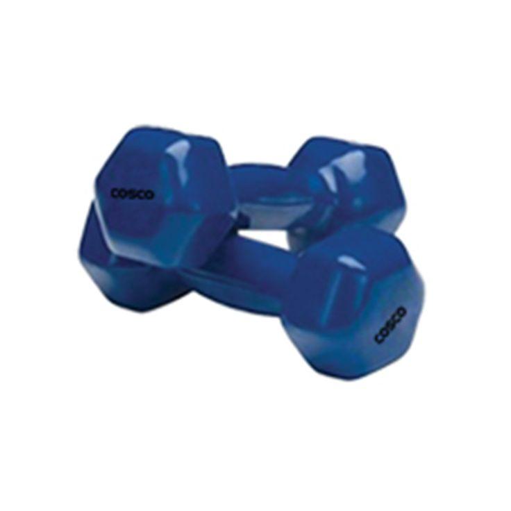 Cosco CVD4 (2½ Kg.) Dumbbell      Product  Name:VINYL Dumbbell     IMPORTED Hexagonal VINYL Dumbbell.      Colour : Blue.     Weight : 2.5 Kgs.  Reach Us: https://goo.gl/413yCg