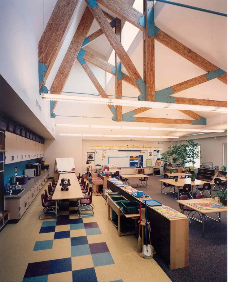 What Is Stem Lab In School: Love The Light And Open Space Of This Design.