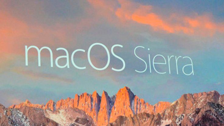 """Das Warten hat ein Ende: Apple hat das neue Betriebssystem """"MacOS Sierra"""" für…"""