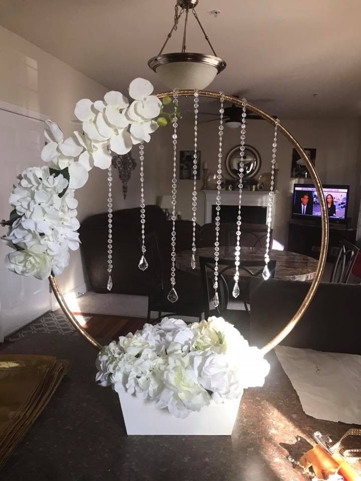 Pin By Alicia Danielle On Hula Hoop Centerpiece In 2020