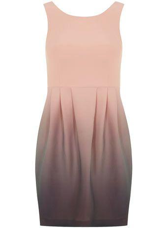 Kardashian Kollection ombre mini dress by Dorothy Perkins