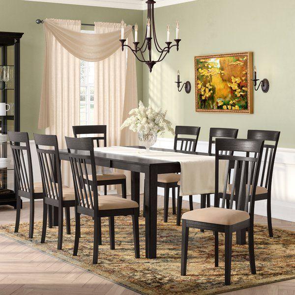 Smyrna 9 Piece Dining Set Dining Room Sets Solid Wood Dining