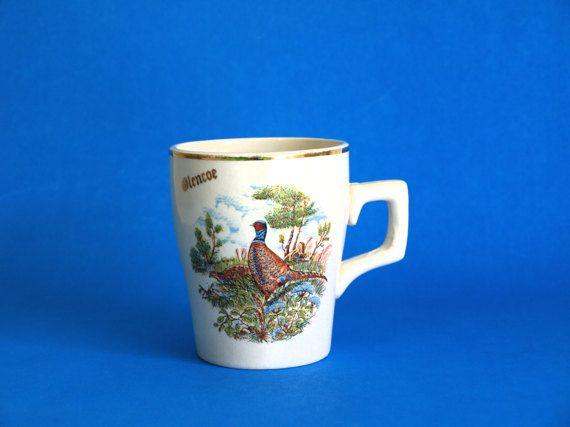 Glencoe Scottish Highlands Souvenir Mug  Grouse by FunkyKoala