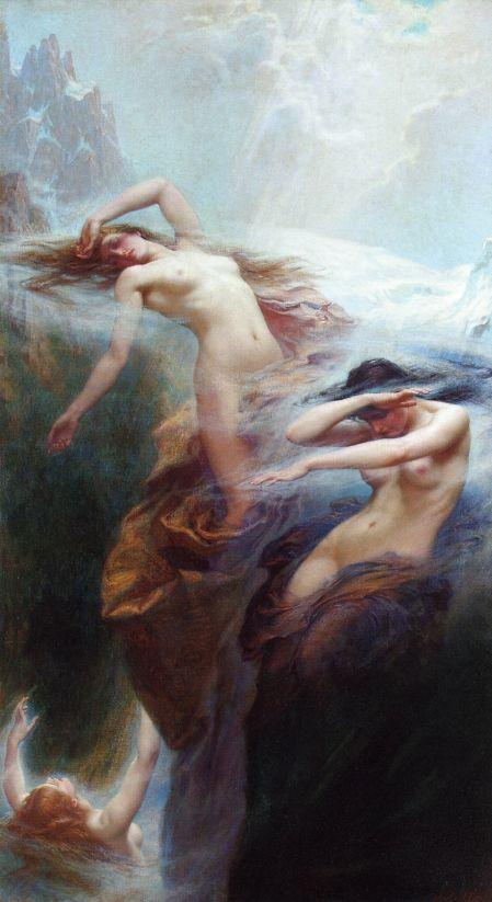 Clyties of the Mist - Herbert James Draper