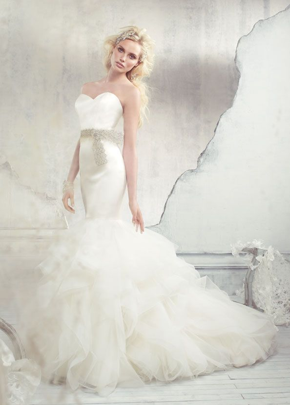 Spectacular Alvina Valenta Bridal Gowns Wedding Dresses Style AV by JLM Couture Inc