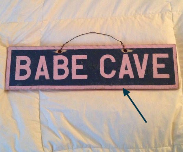 How To : DIY a Brandy Melville Sign