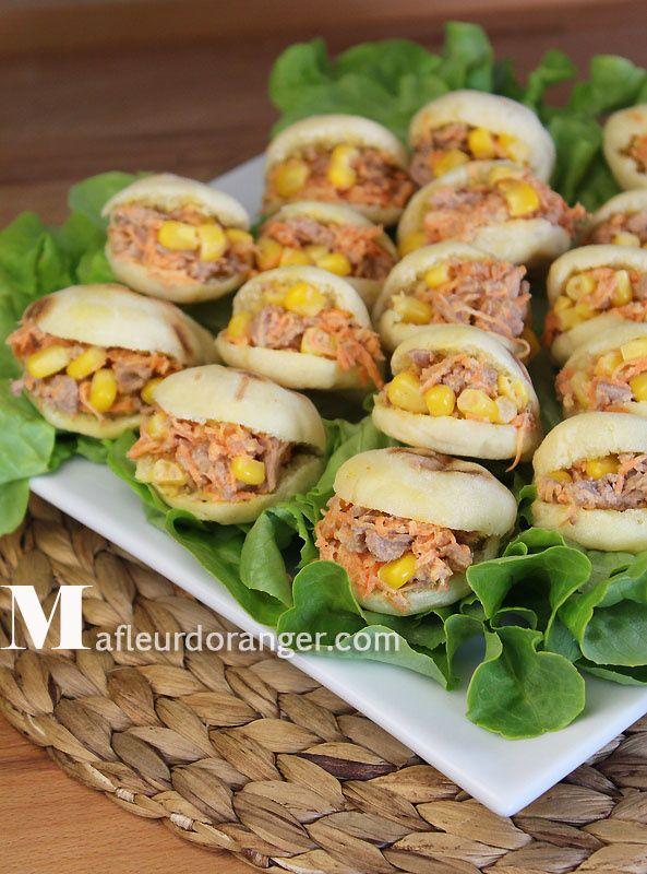 Mini batbout farci sal e pinterest pain d 39 epices tables and tags - Idee de sandwich froid ...