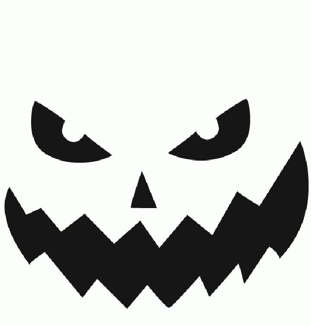 picture about Printable Jackolantern known as Basic jack o lantern template printable Jack o Lantern
