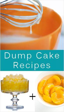 26 Quick & Easy Dump Cakes: {Recipes}