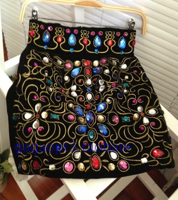 юбки с камнями модные платья женские юбки - Taobao