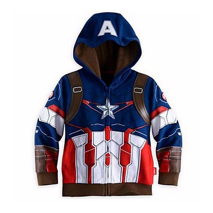 >> Click to Buy << Big size little pony Sweater Kids Boys Girls Jacket Children's Avengers Coats,Boy's Lron man Hoodies,Children Clothing Spiderman #Affiliate
