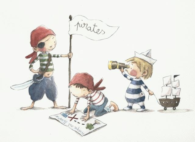 ¡Somos piratas!